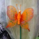 Πεταλούδα με στικ