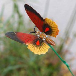 Πεταλούδα μεταλλική με στικάκι