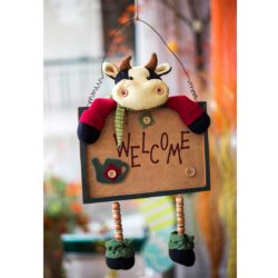 Διακοσμητικό πόρτας, αγελαδίτσα