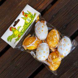Αυγά διακοσμητικά κροκί-λευκά
