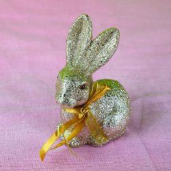 Λαγουδάκι χρυσό, ύψους 15cm