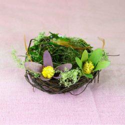 Φωλιά με αυγά, μήκους 12cm