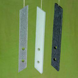 Λαμπάδα ξυστή αρωματική πλακέ, ύψους 28cm