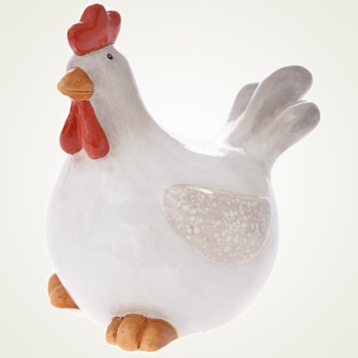 Κότα κεραμική, ύψους 12cm